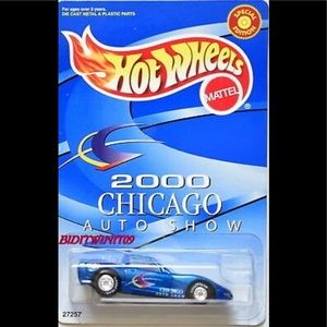 HOT WHEELS 2000 CORVETTE C6 NIB